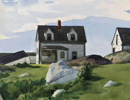 Edward-hopper-houses-of-squam-light-detail