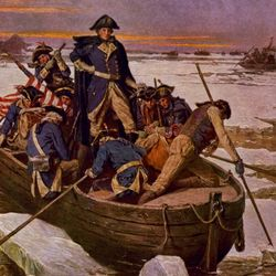 G washington crossing the delaware